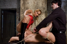 Sex Slave Learns To Love Bondage And Anal Sex