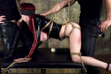 Slave In Training Bondage Fucked By Her Trainers